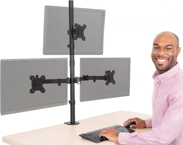 Stand Steady 3 Monitor Mount Desk Stand