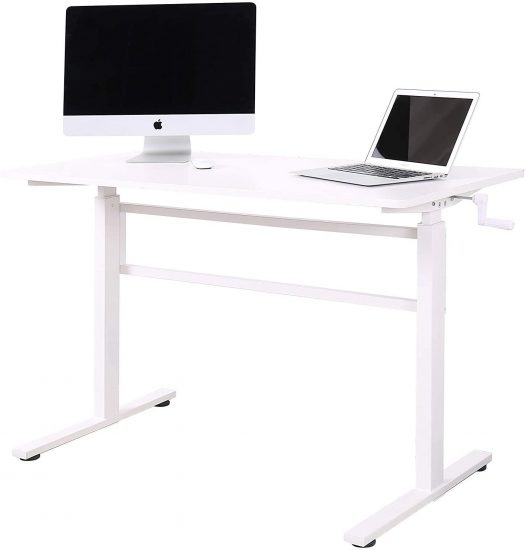 UNICOO - Crank Adjustable Height Standing Desk