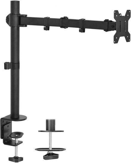 VIVO Single 13 to 27 inch LCD Monitor Desk Mount Stand