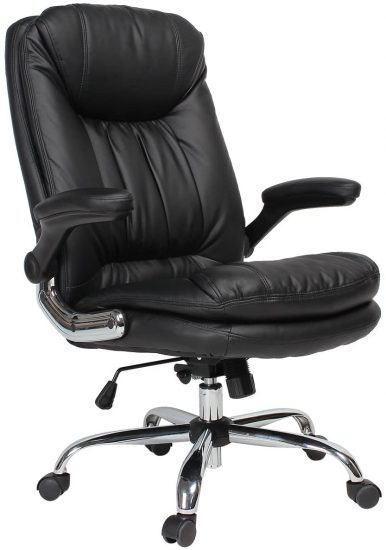 YAMASORO Ergonomic Executive Office Chair Black High Back