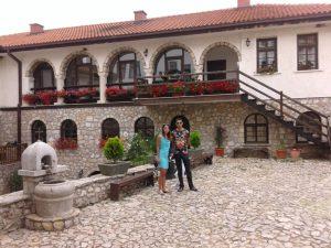 romantische huisjes in noord macedonië pauwen