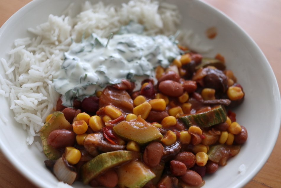 chili rijst