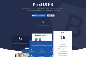 Pixel Lite - Free Bootstrap 5 UI Kit