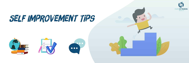self improvement tips from overhorizon media