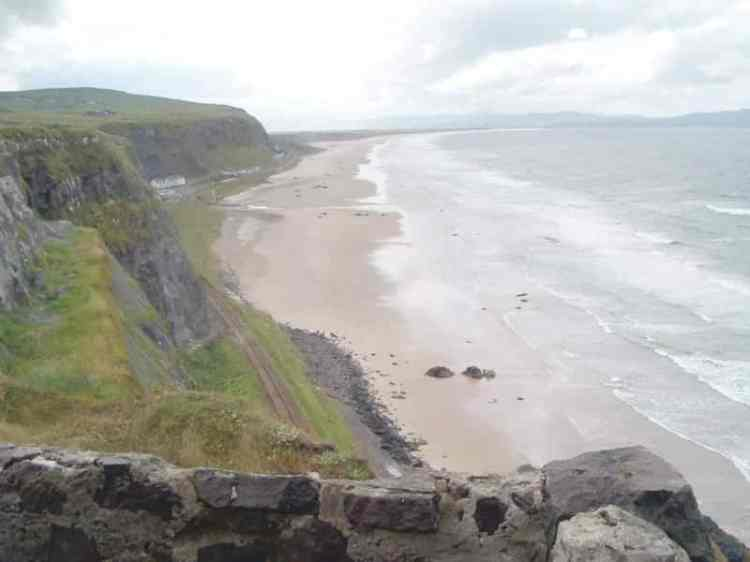 picture of Benone Beach ireland