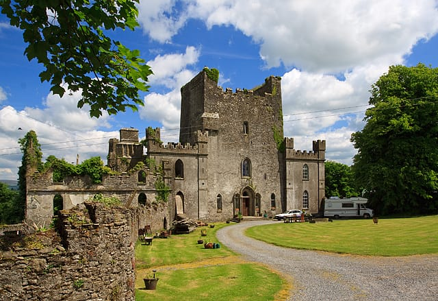 pic of Leap Castle ireland