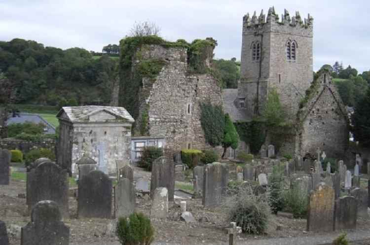 Picture of St. Mary's church of Inistioge, County Kilkenny