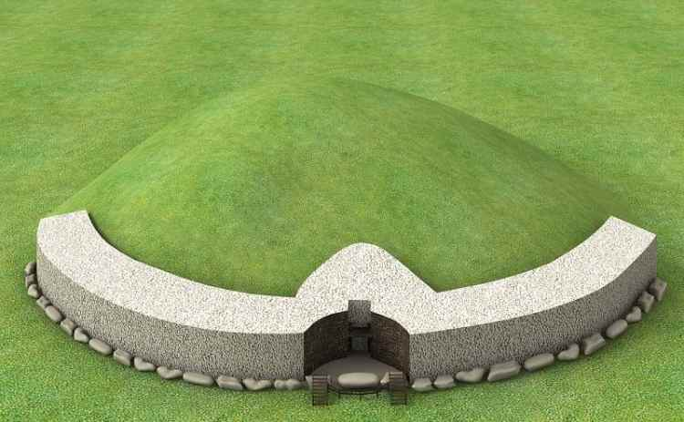 Picture of 5,000 Year-Old Passage Tomb