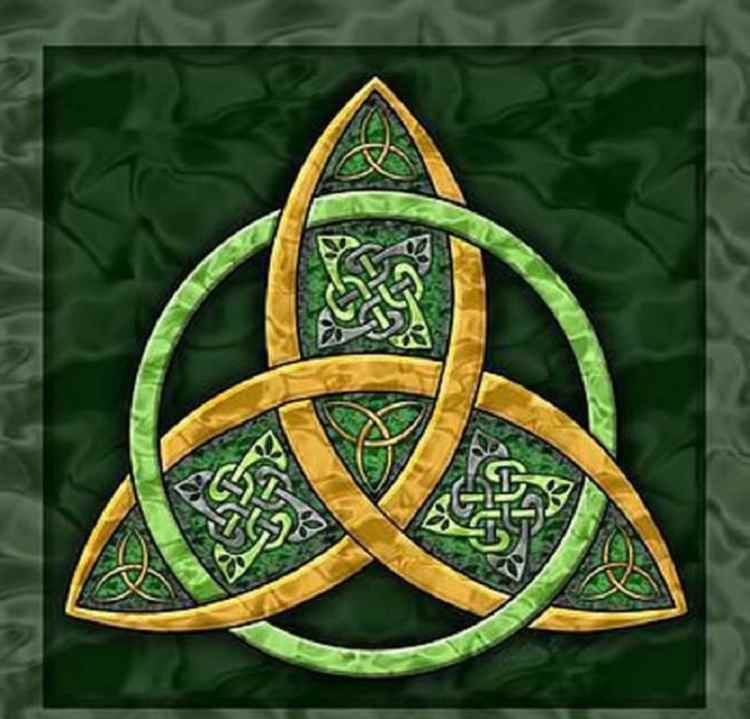 Picture of the Trinity Knot