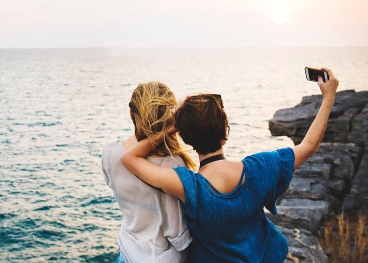 ireland selfie