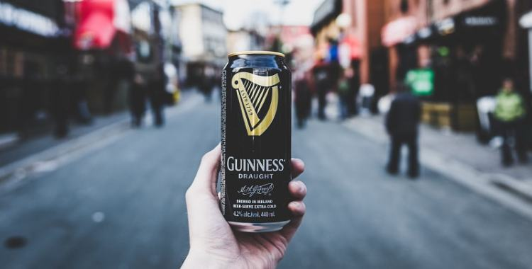 Picture of Guinness Logo Can