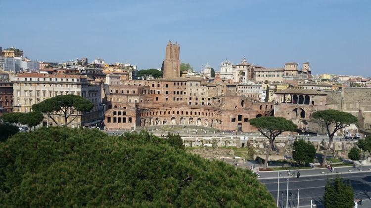 Picture of the ruins of The Roman Civilization