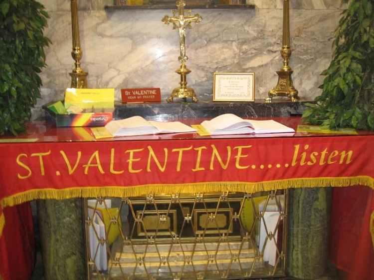 Picture of Saint Valentine Shrine