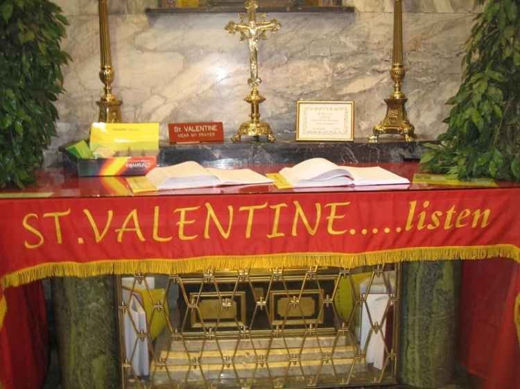 Picture of Saint Valentine Shrine