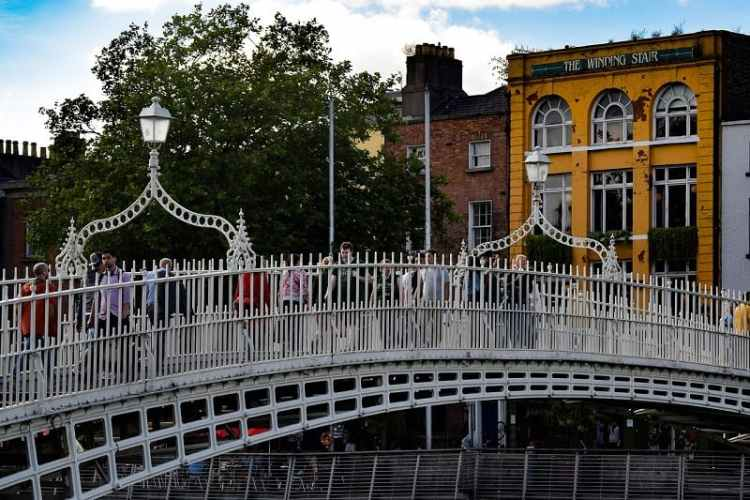 Picture of The Beloved Ha'penny bridge
