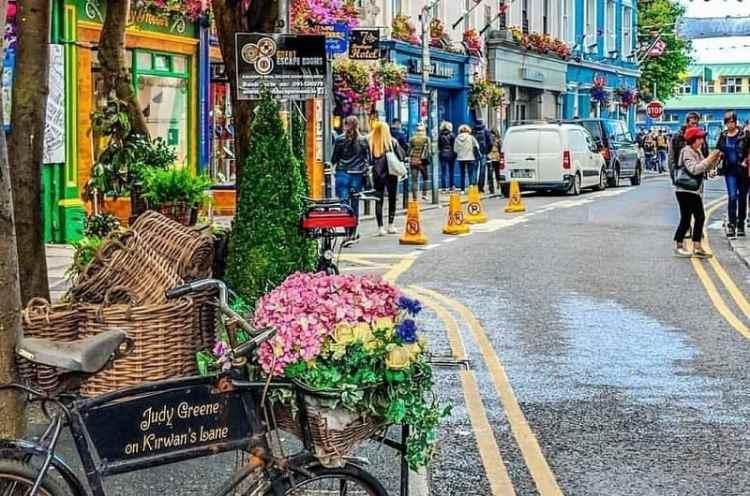 image of Galway's Latin Quarter
