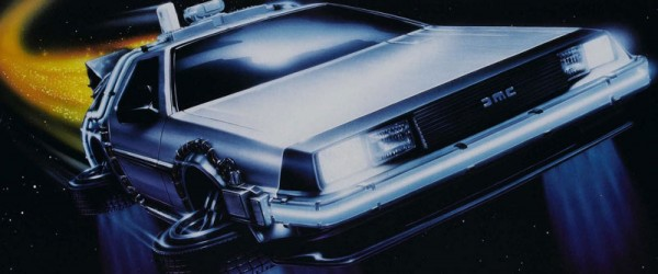 The President Behind The Wheel Of The Delorean Overland
