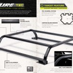 Venturetec Overland Bed Rack For Chevy Silverado Or Gmc Sierra 1500 2019 To Present 6ft 5in Standard Bed Overlanded