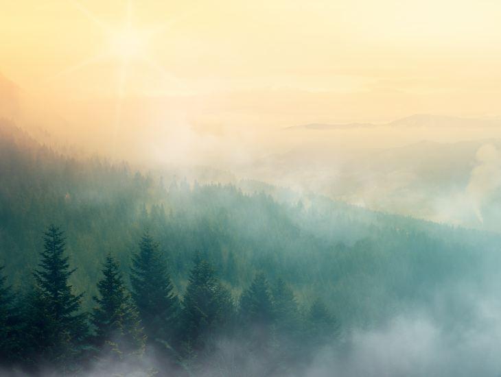 Restoration, ruth, sermon, sunrise, mountain, Nikola Knezevic