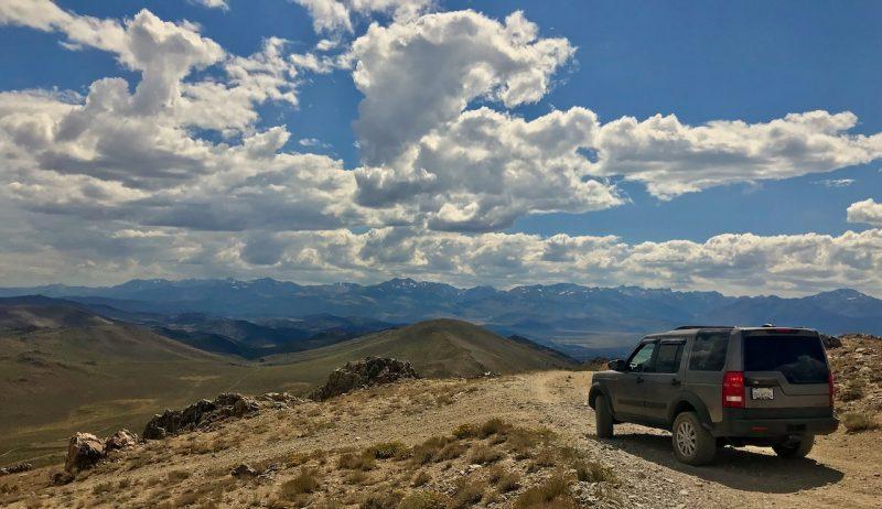 overlanding thru Eastern Sierras
