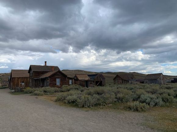 exterior Bodie Ghost Town
