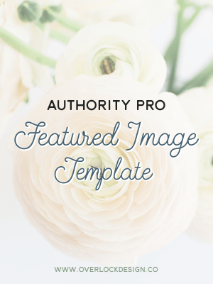 Authority Pro Featured Image Template