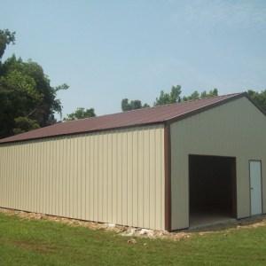Metal Roof Building