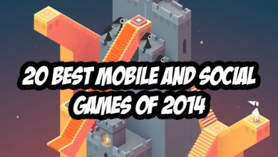 The 20 Best Mobile and Social Games of 2014