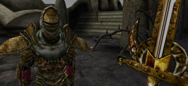 Every Sound in Morrowind Replaced With the Home Improvement Grunt