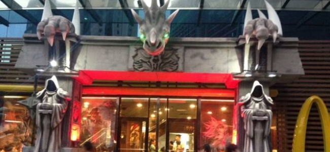 The McDonald's And World Of Warcraft Chimera Stands Tall In China