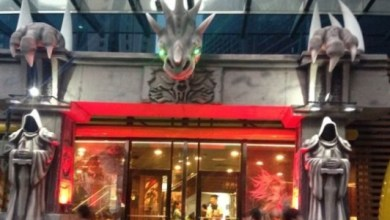 Photo of The McDonald's And World Of Warcraft Chimera Stands Tall In China