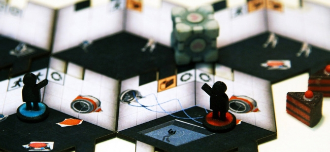 Valve Working on Portal Board Game