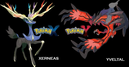 New Leaked Images for Pokemon X and Y Show Off a Legendary