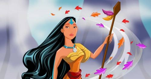 Artist Robby Cook Re-imagines Disney Princesses as 'Avatar: The Last Airbender' Characters