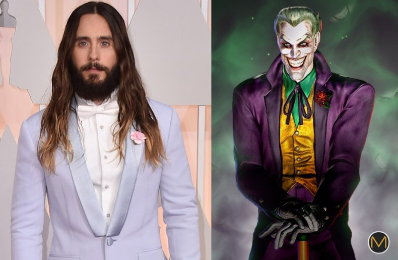 Jared Leto Sure Was Looking Joker-y Last Night at the Oscars