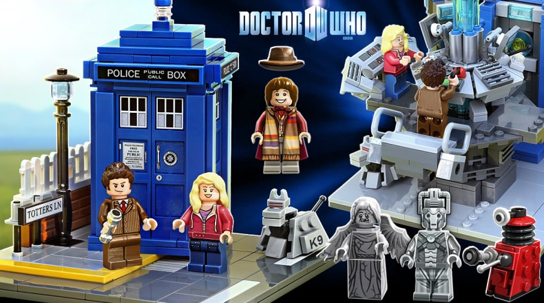 We're Getting an Official LEGO Doctor Who Set