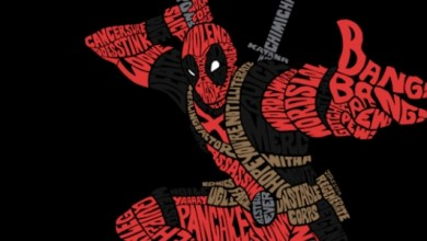 T-Shirt Tuesday: Deadpool Looks Great as Words