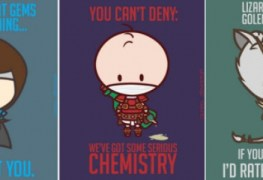 These 'League of Legends' Valentine's Day Cards are Clever and Adorable