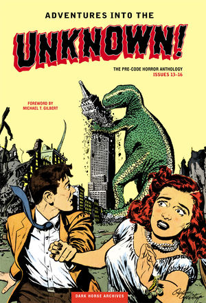 Adventures Into The Unknown Archive #4 Cover (Dark Horse)