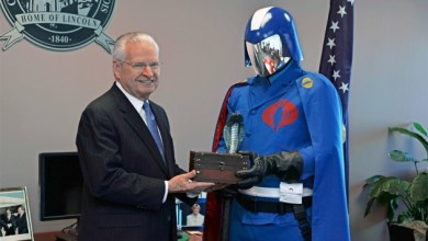 Breaking News: Springfield, Illinois Surrenders to Cobra Commander!