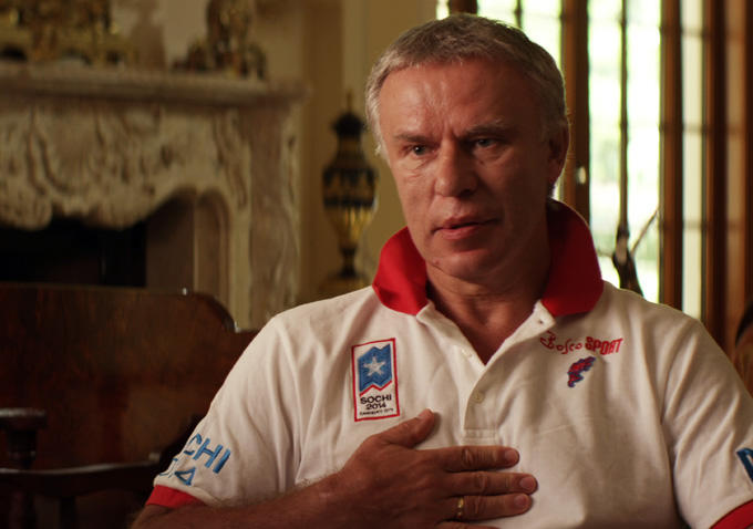 Slave Fetisov gives his often brutal opinions in Red Army.