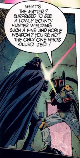 Fett v Vader