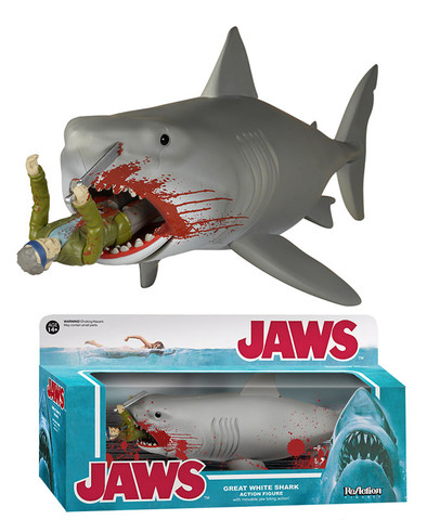 Jaws - Bloody Quint and Shark