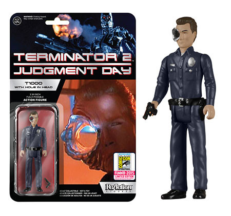 Terminator 2 - T1000 with Hole in Head