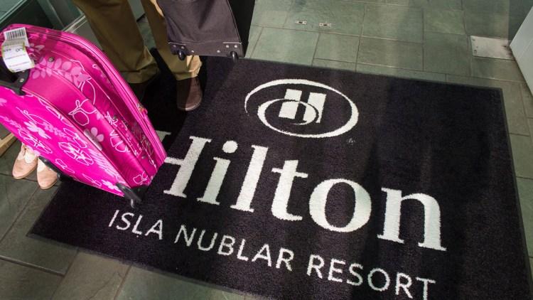 hilton-welcome-mat