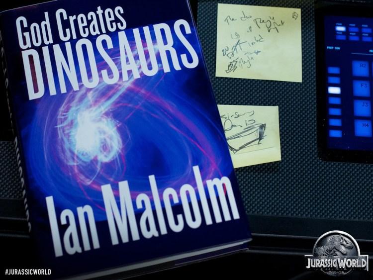 ian malcom book jurassic world