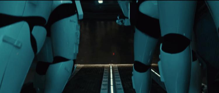First Order transpor interior