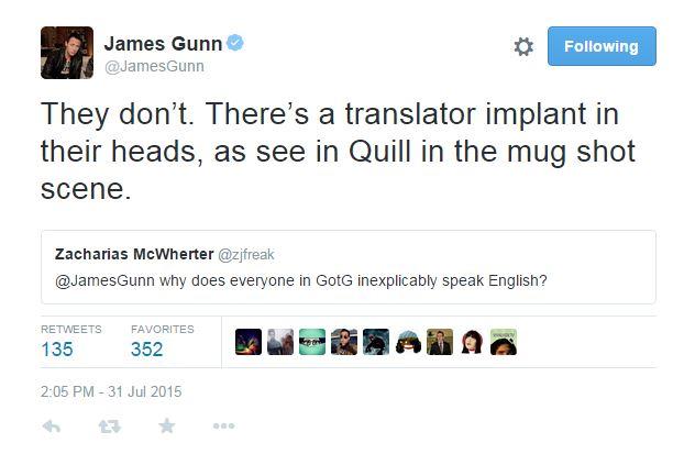 james gunn translator