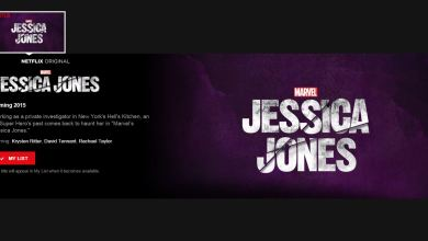 Jessica Jones' New Netflix Page is Very... Purple