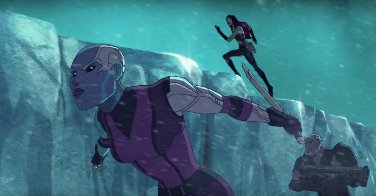 Guardians of the Galaxy animated series 2